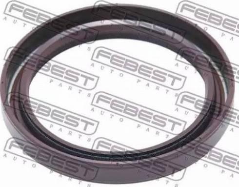 Febest 95GBY50640808R - Уплотнительное кольцо вала, приводной вал autodif.ru