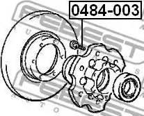 Febest 0484-003 - Болт крепления колеса autodif.ru