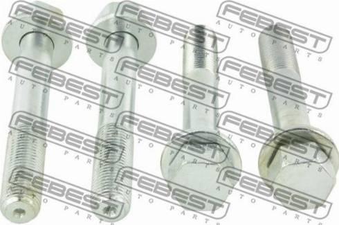 Febest 0129-022-PCS4 - Болт регулировки развала колёс autodif.ru