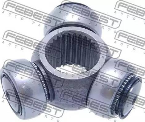 Febest 0216-F50 - Муфта с шипами, приводной вал autodif.ru