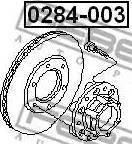 Febest 0284-003 - Болт крепления колеса autodif.ru