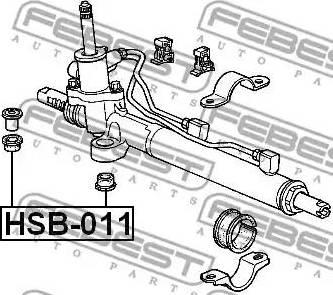 Febest HSB-011 - Подвеска, рулевое управление autodif.ru