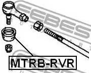 Febest MTRBRVR - Ремкомплект, наконечник поперечной рулевой тяги autodif.ru
