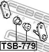 Febest TSB-779 - Втулка, листовая рессора autodif.ru