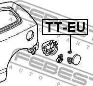 Febest TTEU - Крышка, топливной бак autodif.ru