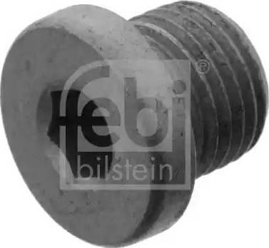 Febi Bilstein 46267 - Резьбовая пробка, картер коробки передач autodif.ru