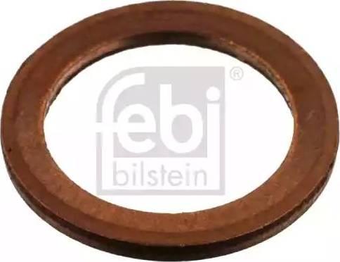 Febi Bilstein 04054 - Уплотнительное кольцо, резьбовая пробка маслосливн. отверст. autodif.ru