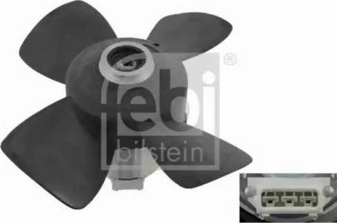 Febi Bilstein 06995 - Вентилятор, охлаждение двигателя autodif.ru