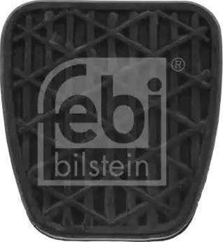 Febi Bilstein 07532 - Накладка на педаль, педаль сцепления autodif.ru