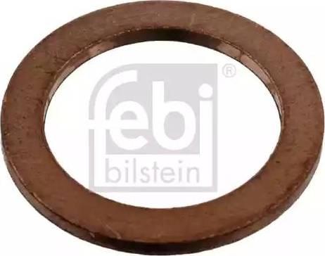 Febi Bilstein 07215 - Уплотнительное кольцо, резьбовая пробка маслосливн. отверст. autodif.ru