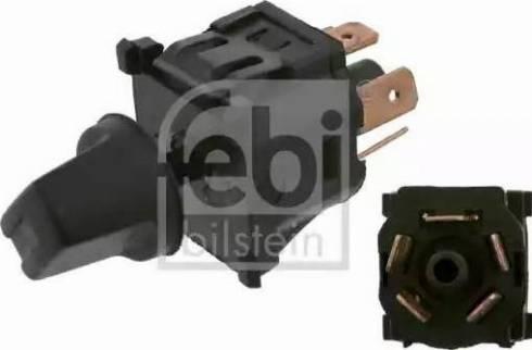 Febi Bilstein 14078 - Выключатель вентилятора, отопление / вентиляция autodif.ru