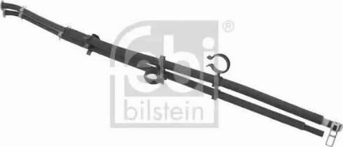 Febi Bilstein 100769 - Шлангопровод, регенерация сажевого / частичного фильтра autodif.ru