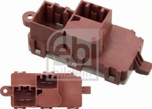 Febi Bilstein 101911 - Блок управления, отопление / вентиляция autodif.ru