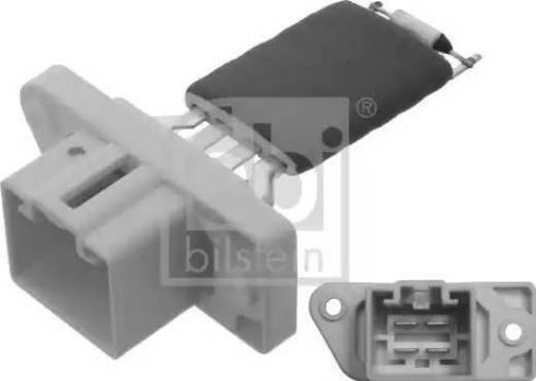 Febi Bilstein 38635 - Сопротивление, вентилятор салона autodif.ru