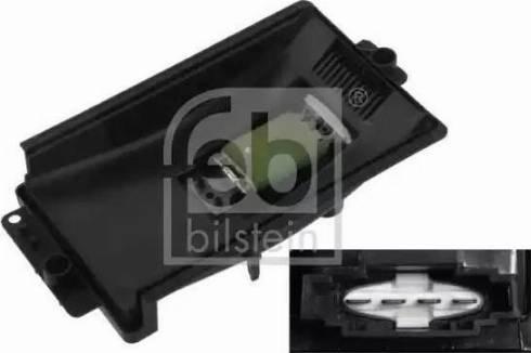 Febi Bilstein 33154 - Блок управления, отопление / вентиляция autodif.ru