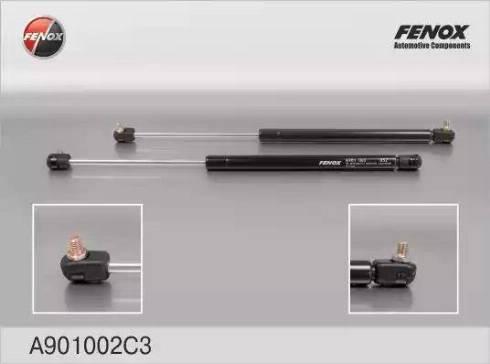 Fenox A901002C3 - Газовая пружина, крышка багажник autodif.ru