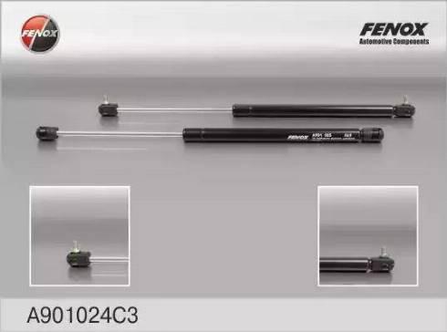 Fenox A901024C3 - Газовая пружина, крышка багажник autodif.ru