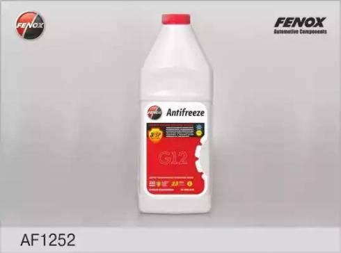 Fenox AF1252 - Антифриз autodif.ru