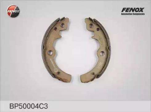Fenox BP50004C3 - Комплект тормозных колодок autodif.ru