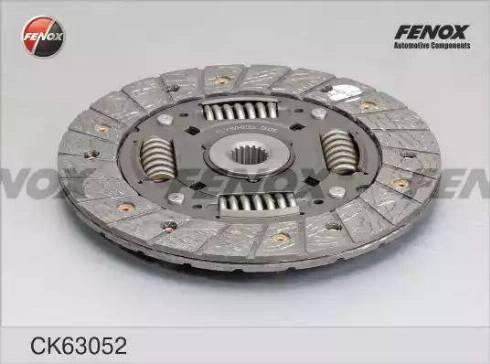 Fenox CK63052 - Комплект сцепления autodif.ru