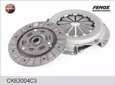 Fenox CK63004C3 - Комплект сцепления autodif.ru