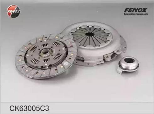 Fenox CK63005C3 - Комплект сцепления autodif.ru