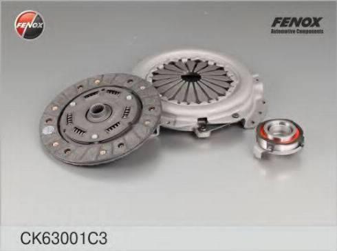Fenox CK63001C3 - Комплект сцепления autodif.ru
