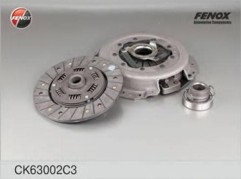Fenox CK63002C3 - Комплект сцепления autodif.ru