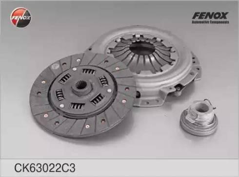 Fenox CK63022C3 - Комплект сцепления autodif.ru