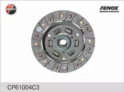 Fenox CP61004C3 - Диск сцепления autodif.ru
