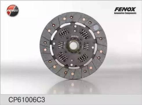 Fenox CP61006C3 - Диск сцепления autodif.ru