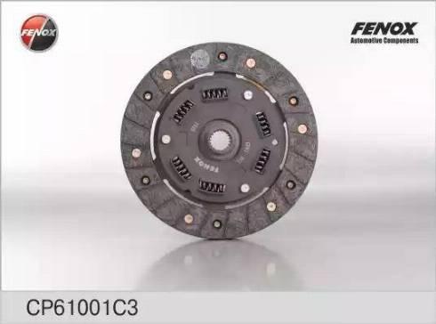 Fenox CP61001C3 - Диск сцепления autodif.ru