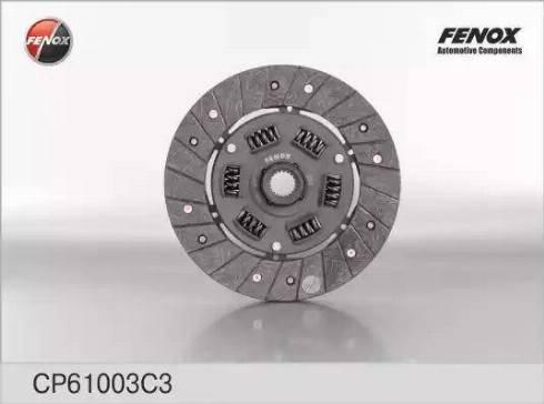 Fenox CP61003C3 - Диск сцепления autodif.ru