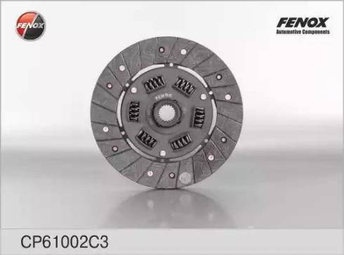 Fenox CP61002C3 - Диск сцепления autodif.ru