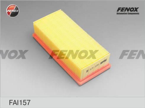 Fenox FAI157 - Воздушный фильтр autodif.ru