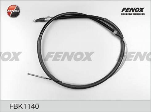 Fenox FBK1140 - Трос, стояночная тормозная система autodif.ru