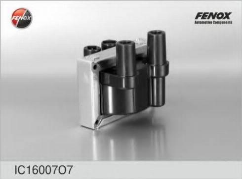 Fenox IC16007O7 - Катушка зажигания autodif.ru