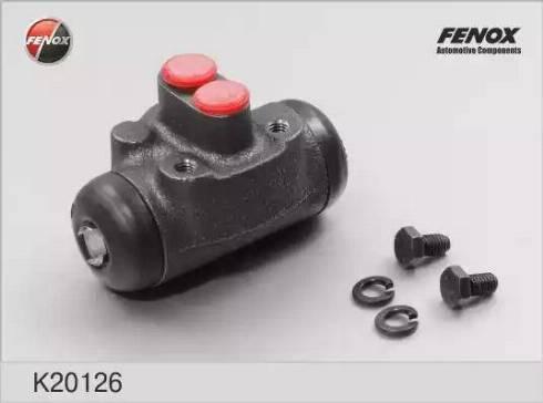 Fenox K20126 - Колесный тормозной цилиндр autodif.ru