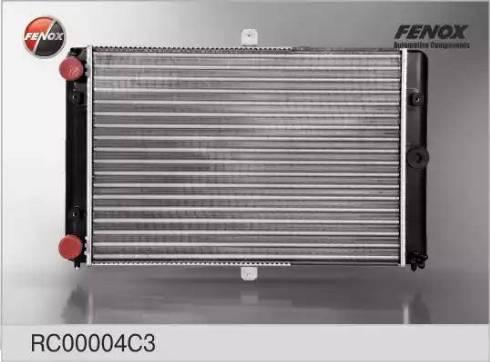 Fenox RC00004C3 - Радиатор, охлаждение двигателя autodif.ru