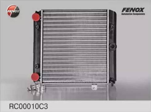 Fenox RC00010C3 - Радиатор, охлаждение двигателя autodif.ru