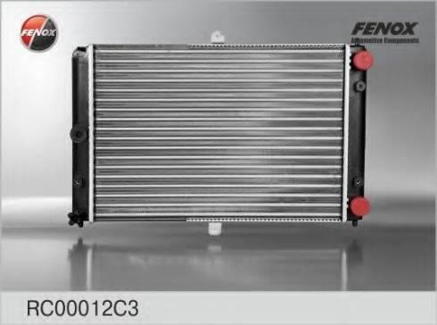 Fenox RC00012C3 - Радиатор, охлаждение двигателя autodif.ru