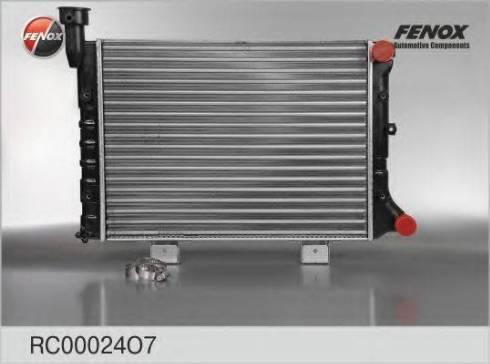 Fenox RC00024O7 - Радиатор, охлаждение двигателя autodif.ru