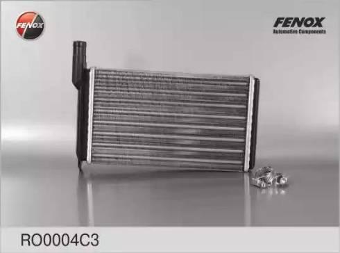 Fenox RO0004C3 - Теплообменник, отопление салона autodif.ru