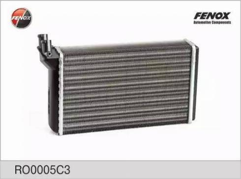 Fenox RO0005C3 - Теплообменник, отопление салона autodif.ru