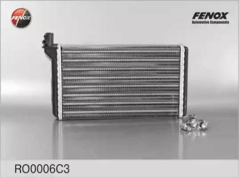 Fenox RO0006C3 - Теплообменник, отопление салона autodif.ru