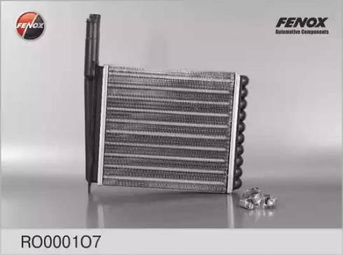 Fenox RO0001O7 - Теплообменник, отопление салона autodif.ru