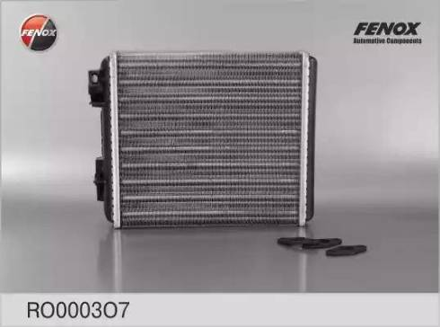 Fenox RO0003O7 - Теплообменник, отопление салона autodif.ru