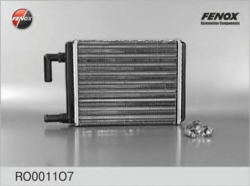 Fenox RO0011O7 - Теплообменник, отопление салона autodif.ru