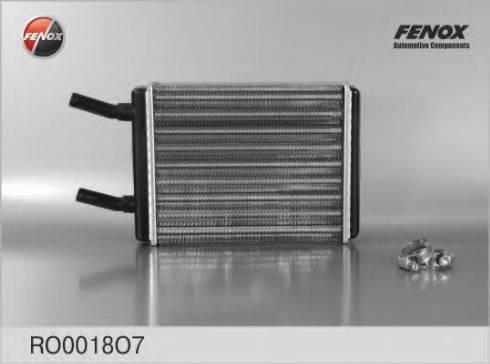 Fenox RO0018O7 - Теплообменник, отопление салона autodif.ru
