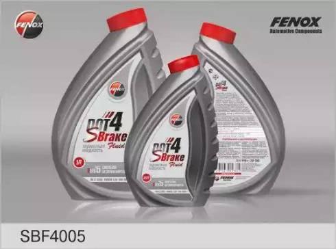 Fenox SBF4005 - Тормозная жидкость autodif.ru